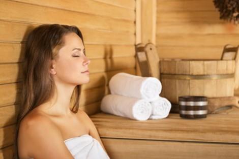 Sauna, soin d'eau