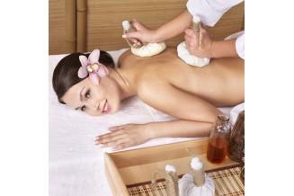 Massage aux pochons d'épices précieuses 75min